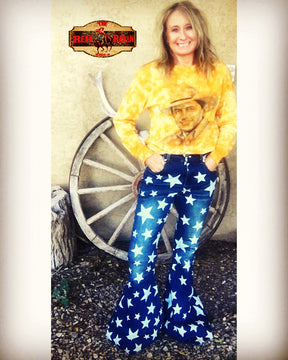 Star Flare Jeans