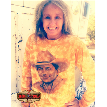 Give it to me Strait Long sleeve Tee