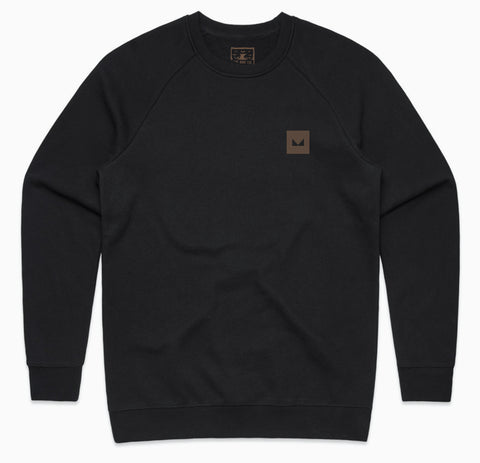 Geo Icon Crewneck Sweatshirt