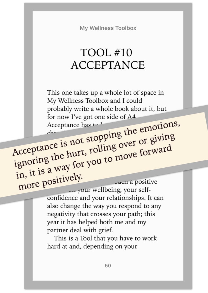 Tool #10 Acceptance