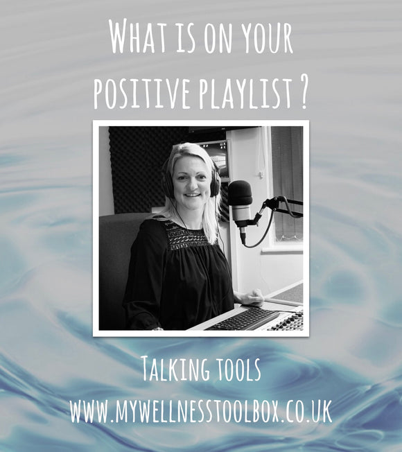 TOOL #3 MUSIC - WHAT'S ON YOUR POSITIVE PLAYLIST?