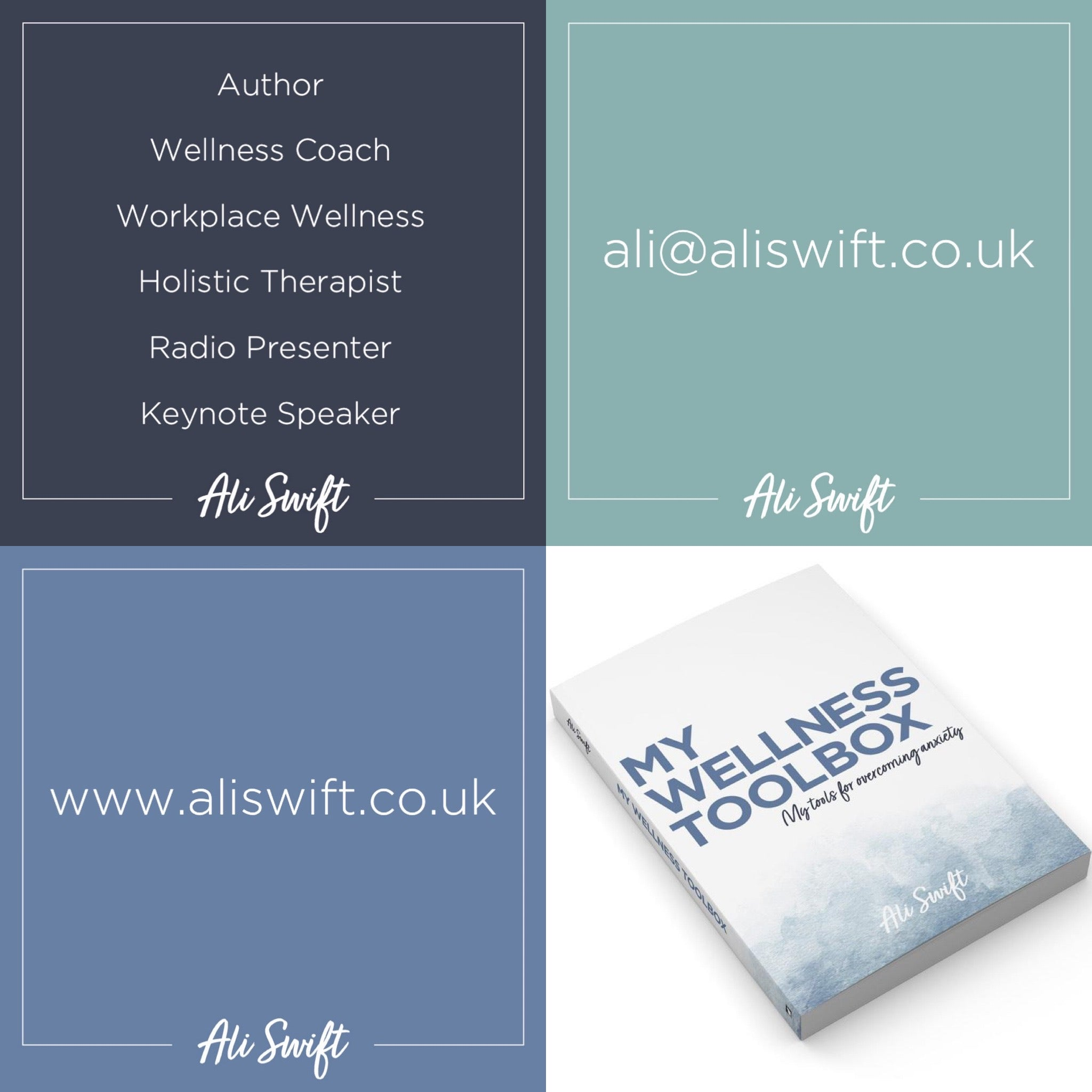 LAUNCH OF ALI SWIFT & YOUR WORKPLACE WELLNESS