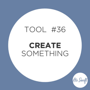 PULL OUT TOOL #36 DRAWING AND GET CREATIVE