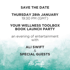 YOUR WELLNESS TOOLBOX ONLINE BOOK LAUNCH PARTY