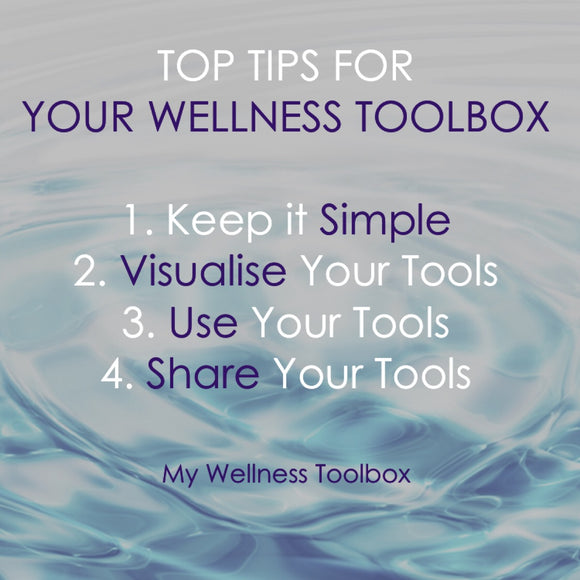 📝TOP TIPS TO DISCOVER & FILL YOUR WELLNESS TOOLBOX 🧰