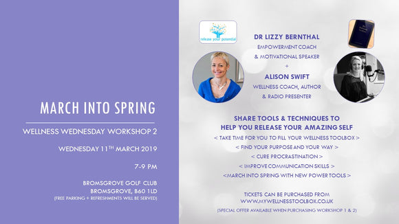 EVENT TICKET - WW WORKSHOP 2 - MARCH INTO SPRING