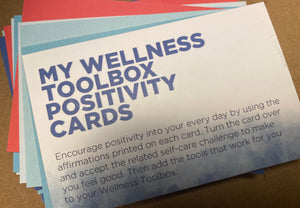 My Wellness Toolbox Positivity Cards