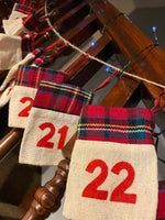Load image into Gallery viewer, Positivity Advent Calendar #2 - Tartan