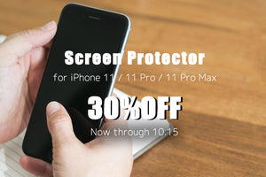 Screen Protector for iPhone 11 series 30% OFF!
