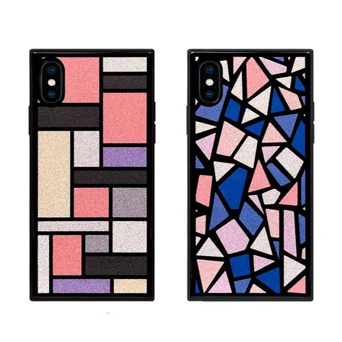 TILE Square Glass Case for iPhone XS/X/XR/8/7 - Hamee Strapya World