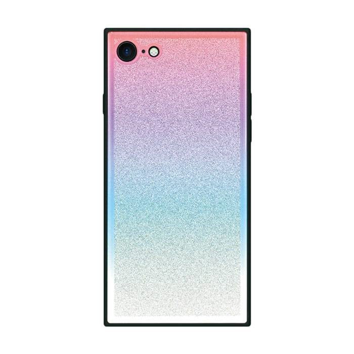 TILE Square Glitter Gradation Case for iPhone 8 / 7 - Hamee Strapya World