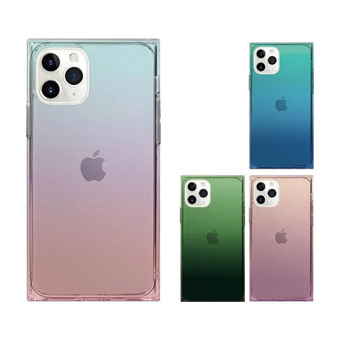 TILE Square TPU Gradation Case for iPhone 11 Pro/11 - Hamee Strapya World