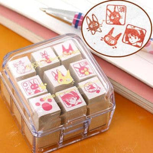 Studio Ghibli Kiki's Delivery Service Mini Stamp - Hamee Strapya World