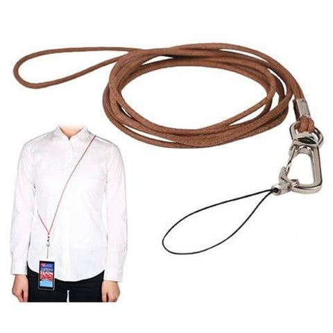 Real Leather Long Neck Strap - Hamee Strapya World