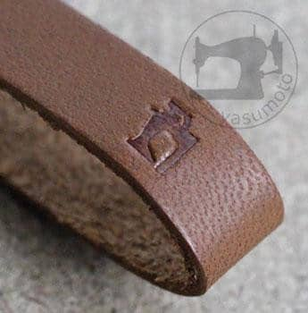 Simple Leather Hand Strap - Hamee Strapya World