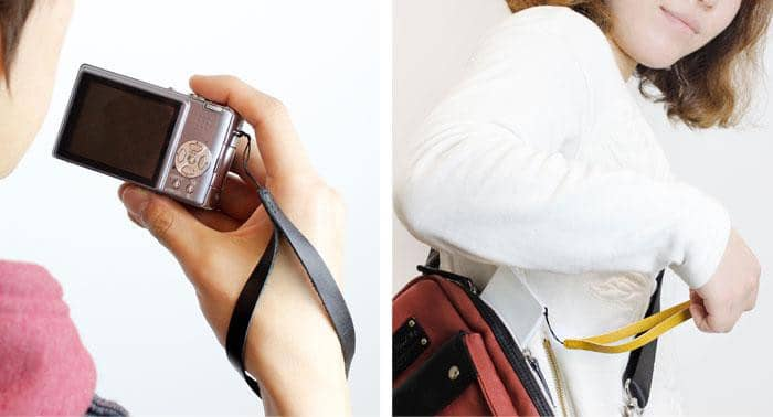 Simple Leather Wrist Strap - Hamee Strapya World