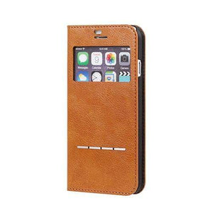 CERTA Window Diary Phone Case for iPhone - Hamee Strapya World