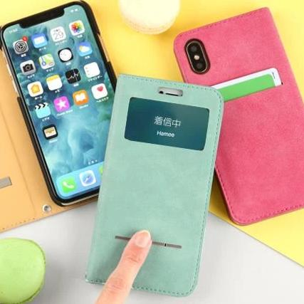 COSMO FLIP Diary Phone Case for iPhone XS/X - Hamee Strapya World