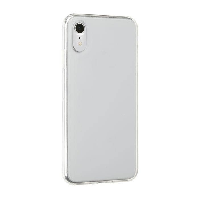 Side Colored Clear Hybrid Phone Case for iPhone XR - Hamee Strapya World