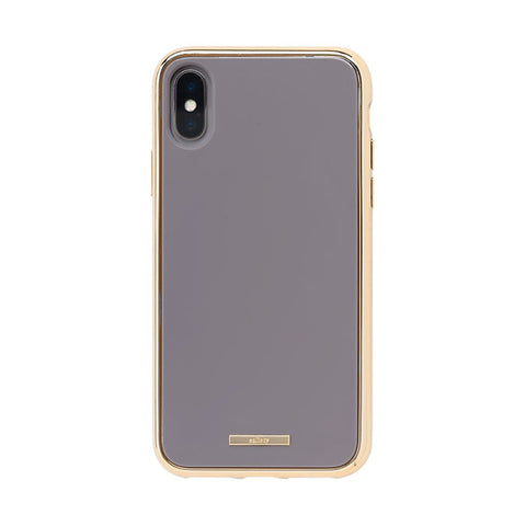 salisty Q Impact Resistant Hard Phone Case for iPhone XS/X (Gray) - Hamee Strapya World