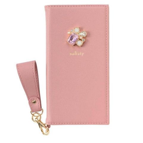 salisty P Bijou Diary Phone Case for iPhone XS/X (Rose Pink) - Hamee Strapya World