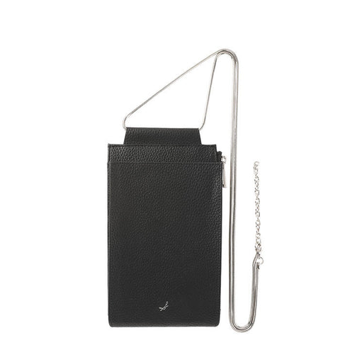 salisty M Shoulder Pouch (Black) - Hamee Strapya World