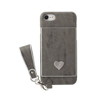 salisty P Silver Heart Hard Phone Case - Hamee Strapya World