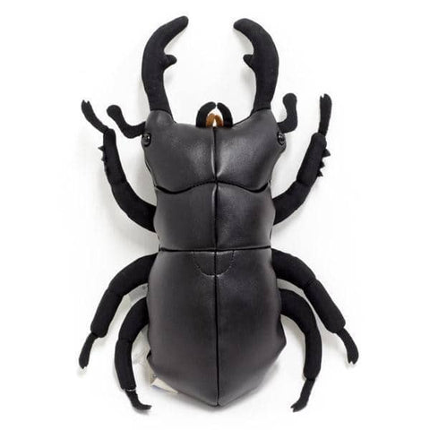 Giant Stag Beetle Leather Plush - Hamee Strapya World