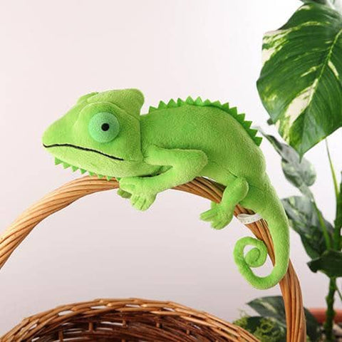 Chameleon Plush (Green) - Hamee Strapya World