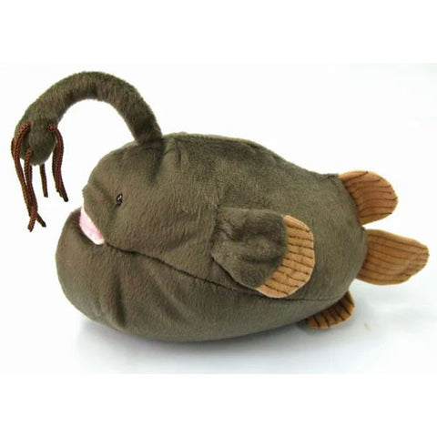 Ancient Deep Sea Creature Atlantic Footballfish Plush - Hamee Strapya World