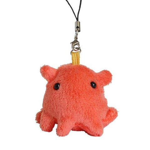 Deep Sea Creature Octopods Plush Strap (Red) - Hamee Strapya World