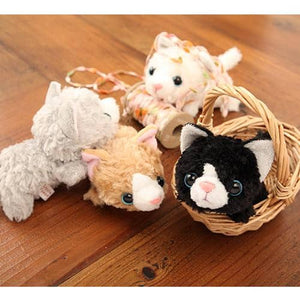 Kitty Cat Plush - Little Beans Series - Hamee Strapya World