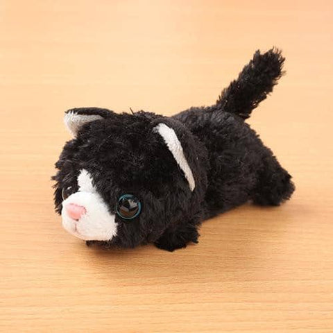Little Beans Plush (Cat) (Black) - Hamee Strapya World