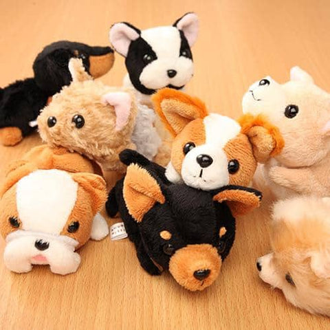 Dog Puppy Plush - Little Beans Series - Hamee Strapya World