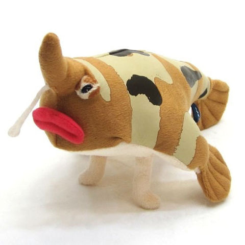 Red Lipped Batfish Plush - Deep Sea Creature Series - Hamee Strapya World
