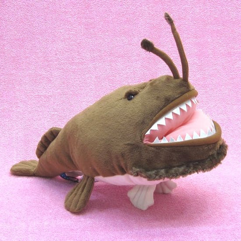 Ancient Deep Sea Creature Anglerfish Plush - Hamee Strapya World