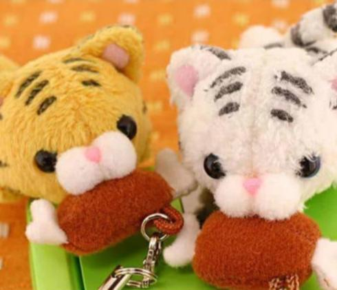 Happy Meal! Cutie Animal Plush Strap - Hamee Strapya World