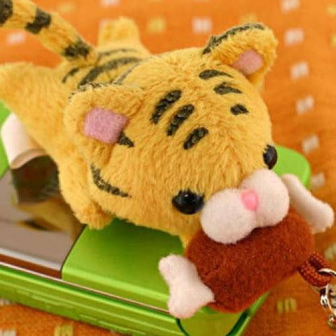 Happy Meal! Cutie Tiger Plush Strap - Hamee Strapya World