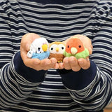 Soft and Downy Bird Plush Strap Munyu-Mamu Series (Wild Duck) - Hamee Strapya World