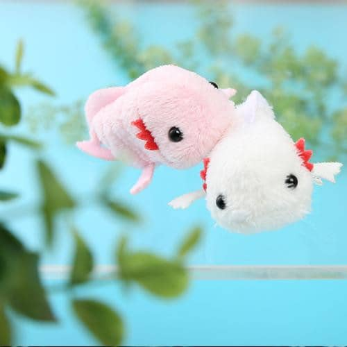 Mini Axolotl Plush - Munyu Mamu Series - Hamee Strapya World