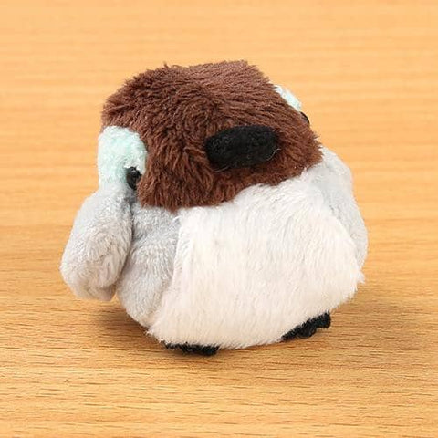 Soft and Downy Bird Plush Beanbag Munyu-Mamu Series (Duck) - Hamee Strapya World