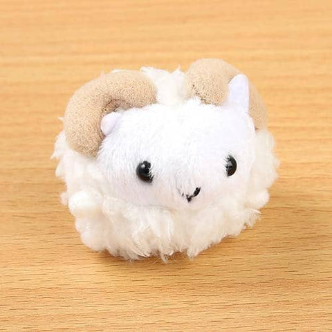 Soft and Downy Animal Plush Beanbag Munyu-Mamu Series (Sheep) - Hamee Strapya World