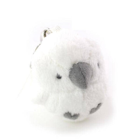 Soft and Downy Bird Plush Beanbag Munyu-Mamu Series (Sulphur-Crested Cockatoo) - Hamee Strapya World
