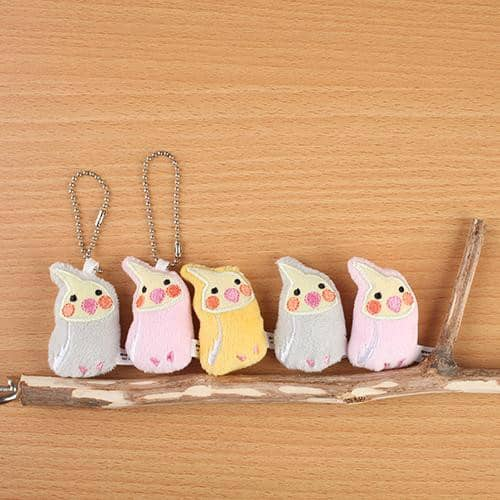 Dream Bird Plush Magnet (Cockatiel) (Yellow) - Hamee Strapya World