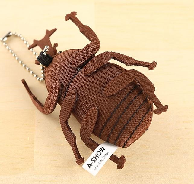 Realistic Beetle Plush Strap - Forest Insect Series - Hamee Strapya World