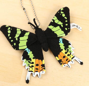 Realistic Butterfly Plush Strap - Forest Insect Series - Hamee Strapya World