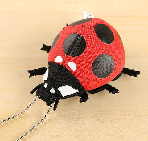 Forest Insect Plush Toy Strap (Ladybug) - Hamee Strapya World