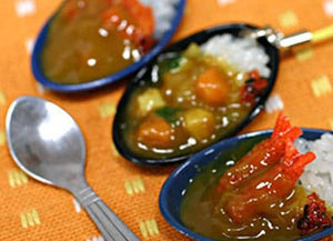 Food Sample Strap (Vegetable Curry) - Hamee Strapya World