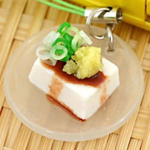Food Sample Strap (Chilled Tofu with Topping) - Hamee Strapya World
