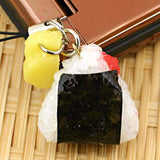 Food Sample Strap (Omusubi / Rice Ball) - Hamee Strapya World